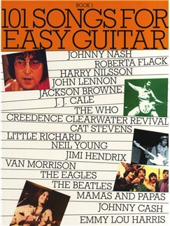 101 Songs For Easy Guitar: Book 1 - Guitar Music Sales Easy Guitar with Lyrics & Chords