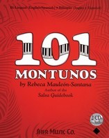 101 Montunos - With 2 CDs - Piano Rebeca Mauleon-Santana Sher Music Co. /CD