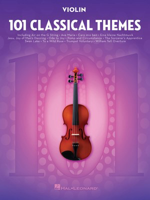 101 Classical Themes for Violin - Various - Violin Hal Leonard