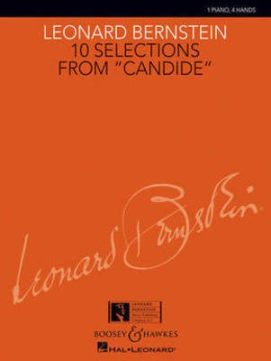10 Selections from Candide - 1 Piano, 4 Hands - Leonard Bernstein - Piano Charlie Harmon Leonard Bernstein Music Publishing Co. Piano Duet