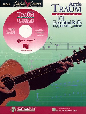 101 Essential Riffs for Acoustic Guitar - Guitar Artie Traum Hal Leonard /CD