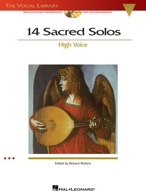 14 Sacred Solos - The Vocal Library - High Voice - Various - Classical Vocal High Voice Hal Leonard /CD