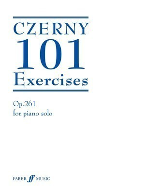 101 Exercises - Carl Czerny - Piano Faber Music