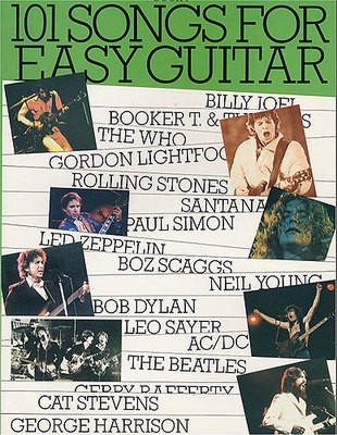 101 Songs For Easy Guitar: Book 4 - Guitar Wise Publications Melody Line, Lyrics & Chords
