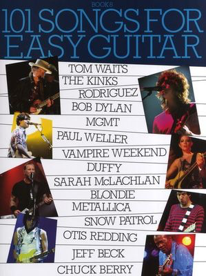 101 Songs For Easy Guitar: Book 8 - Guitar Wise Publications Easy Guitar with Lyrics & Chords