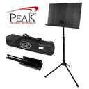 [P2-SMS-20] Collapsible Music Stand - Peak SMS20 Standard Height Steel Base
