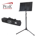[P2-SMS-30] Collapsible Music Stand - Peak SMS30 Tall Height Steel Base