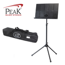 [P2-SMS-40] Collapsible Music Stand - Peak SMS40 Standard Height Aluminium Base