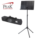 [P2-SMS-50] Collapsible Music Stand - Peak SMS50 Tall Height Aluminum Base