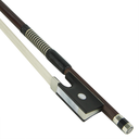 [K2-VN044] Violin Bow - KNOLL Brazilwood Nickel Mounted w/Whalebone Lapping