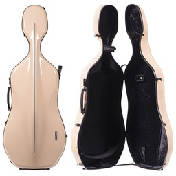 [G1-341.250] Cello Case - Gewa Air, Beige/Black, 4/4