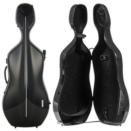 [G1-341.210] Cello Case - Gewa Air, Black/Black, 4/4