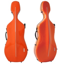 [G1-341.260] Cello Case - Gewa Air, Orange/Black, 4/4
