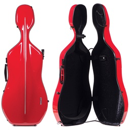 [G1-341.230] Cello Case - Gewa Air, Red/Black, 4/4