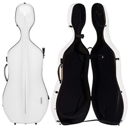 [G1-341.240] Cello Case - Gewa Air, White/Black, 4/4
