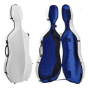 [G1-341.244] Cello Case - Gewa Air, White/Blue, 4/4