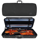 [G1-323.050] Double Case - Gewa Concerto for 2 Violins, Black/Blue