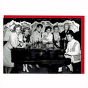 [7050510] Greeting Card - Liberace with Women & Piano - The Alternative Images Company