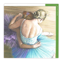 [705055] ***WAS $2.95***Gift Card - 'Ballerinas Resting' By Robert Antell.