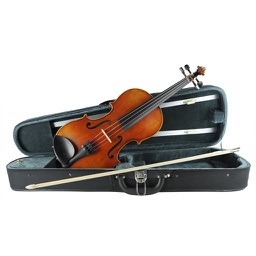 [102272-Outfit] Violin Outfit - Johann Stauffer #100S 1/2 with Arrow Case and Student Bow