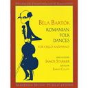[S-M4008] Bartok - Roumanian Folk Dances - Cello/Piano Accompaniment edited by Starker Masters Music Publications M4008