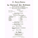 [S-10217] Saint-Saens - Elephant from 'Carnival of the Animals' - Double Bass Durand 10217