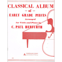 [S-14006942] Classical Album of Early Grade Pieces - Viola/Piano Accompaniment by Herfurth BT10496