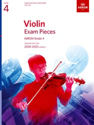 [S-9781786012425] ABRSM Violin Exam Pieces (2020-2023) Grade 4 - Violin Part Only ABRSM 9781786012425
