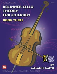 [S-MB20600M] Beginner Cello Theory for Children Book 3 - Cello Theory Book by Smith 20600