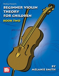 [S-MB20556M] Beginner Violin Theory for Children Book 2 - Violin Theory Book by Smith 20556M