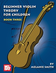 [S-MB20598] Beginner Violin Theory for Children Book 3 - Violin Theory Book by Smith 20598
