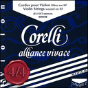 [C1-V800FB] Corelli Alliance Vivace Violin, Set (Forte/Ball), 4/4 - SOO