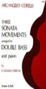 [S-H208] 3 Sonata Movements - Arcangelo Corelli - Double Bass Stainer & Bell