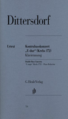 [S-HN759] Double Bass Concerto E major (Krebs 172) - for Double Bass and Piano - Karl Ditters von Dittersdorf - Double Bass G. Henle Verlag