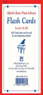 [S-A2283] Alfred's Basic Piano Course: Flash Cards, Levels 1A & 1B - Amanda Vick Lethco|Morton Manus|Willard A. Palmer - Piano Alfred Music Flash Cards