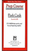 [S-A3103] Alfred's Basic Piano Prep Course: Flash Cards, Levels A & B - Amanda Vick Lethco|Morton Manus|Willard A. Palmer - Piano Alfred Music Flash Cards